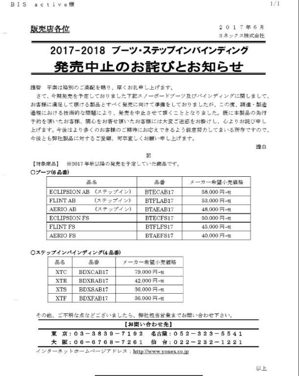 YONEX NEWS 2017-18