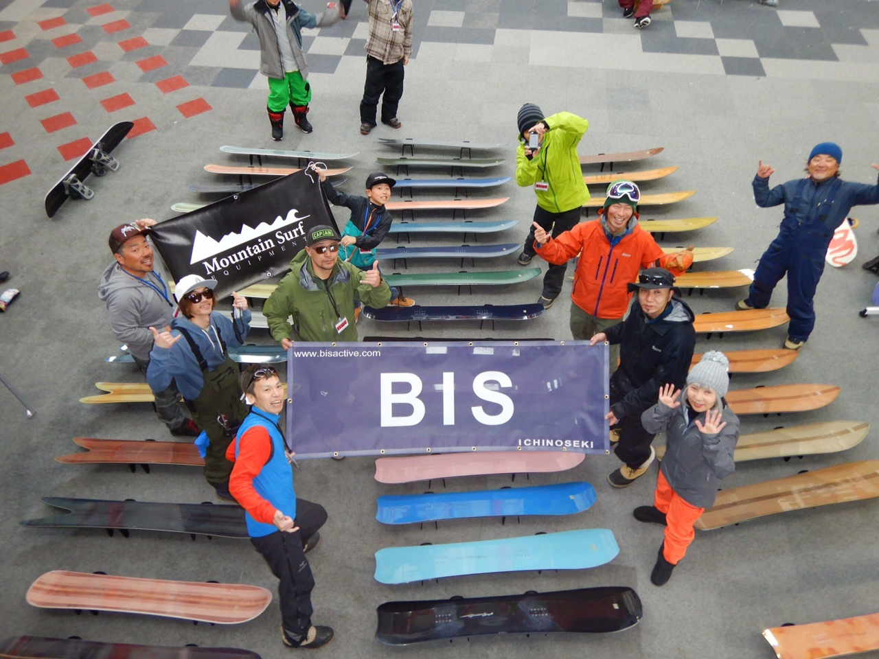 2018 BIS夏油高原試乗会